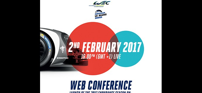 Announcement of WEC season entries : 2 February LIVE online