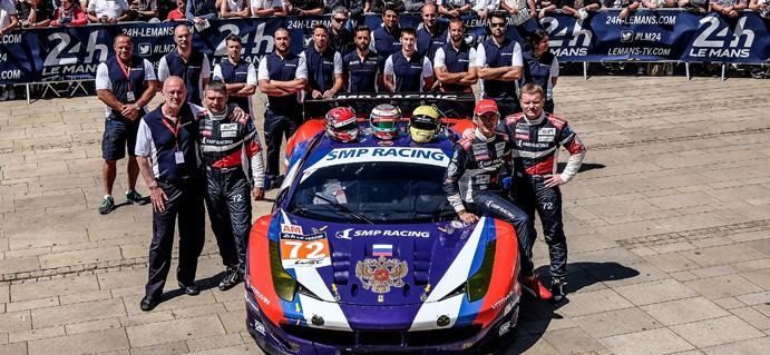 LMGTE AM: SMP Racing sur le toit du monde