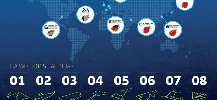 2015 FIA World Endurance Championship Calendar Unveiled