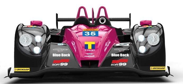 A Morgan LMP2 in OAK Racing colours back in the FIA WEC!
