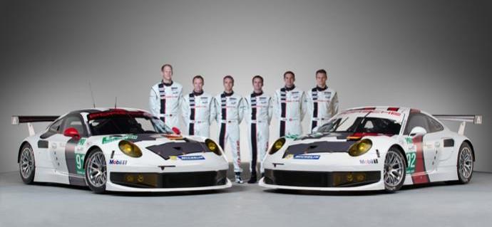Porsche unveil new 911 RSR at Paul Ricard
