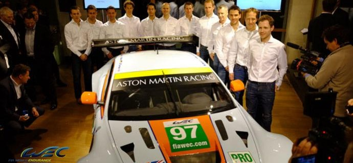 Star names join Aston Martin's 2013 racing programme