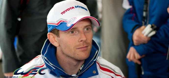 Anthony Davidson returns to the cockpit of his Toyota!