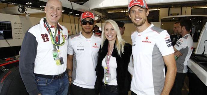 Tracy Krohn Enjoys Formula One Weekend at Austin