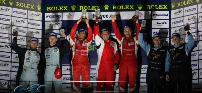 All Classes to Have Driver Trophies in 2013 with GTE Drivers fighting for a World Title