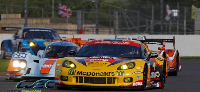 Larbre's Silverstone result extinguished