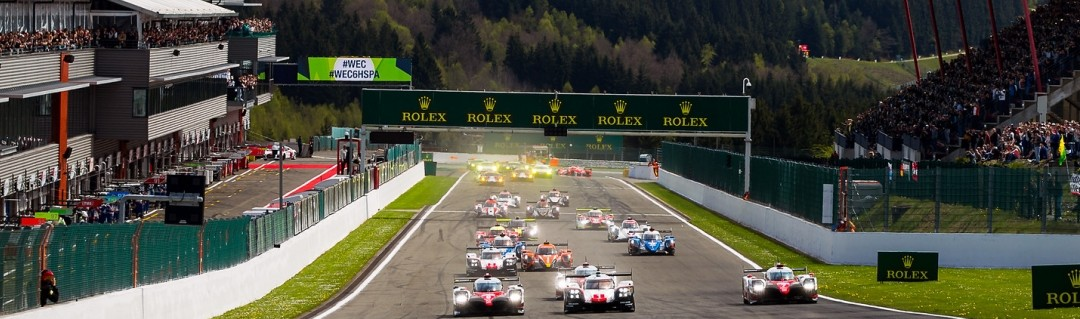 #7 Toyota leads after two frantic hours at Spa