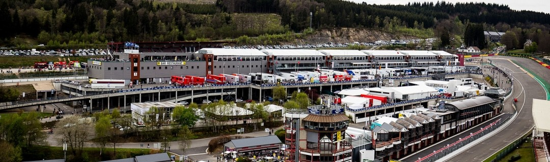 Post card from Spa-Francorchamps
