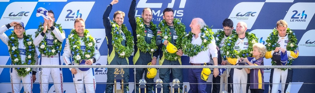 Aston Martin Racing's Vantage reigns supreme at Le Mans