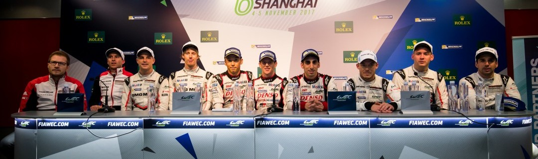 What the LMP1 drivers said after the 6 Hours of Shanghai