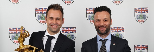 Darren Turner and Jonny Adam receive BRDC awards