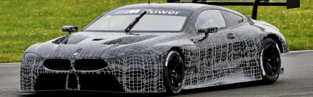 BMW's M8 GTE for the WEC in 2018 breaks cover
