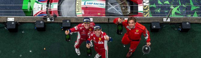 Ferrari takes second consecutive Nürburgring win