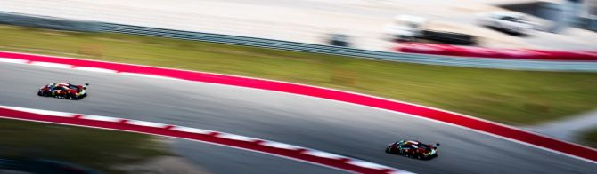 Circuit des Amériques : Ferrari, une victoire de haute lutte en LMGTE Pro
