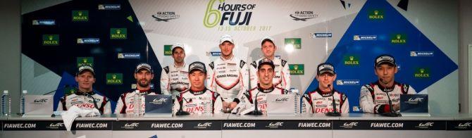 6 Heures de Fuji : les réactions du podium