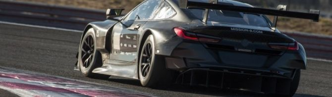 BMW M8 GTE completes 24-hour test