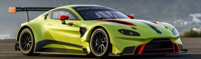 Aston Martin Racing présente sa Vantage 2018