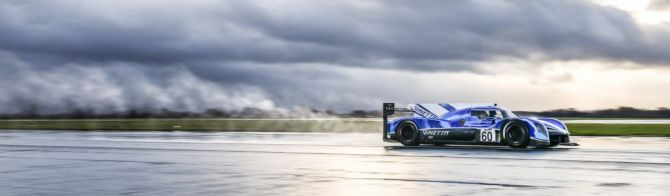 Ginetta LMP1 runs for the first time (video)