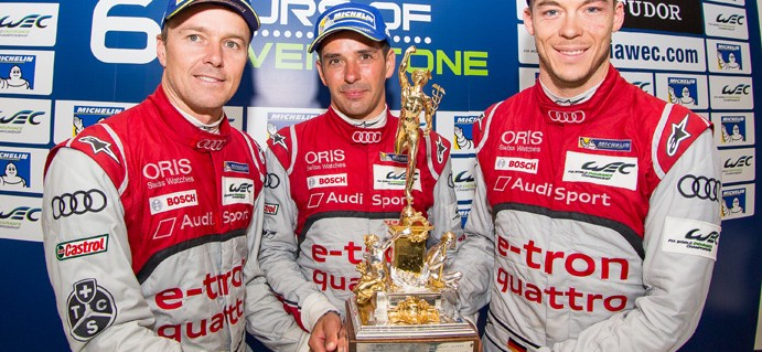 Audi Win Silverstone Thriller to Lift the Tourist Trophy, G-Drive Take 1-2 LMP2 Finish