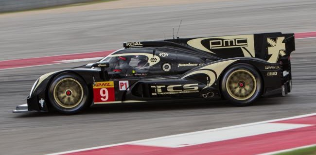 Encouraging performance for new Lotus CLM p1/01 at COTA