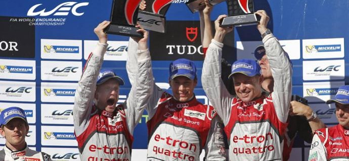 Kristensen, Duval and McNish Extend Championship Lead With Faultless Drive in the USA