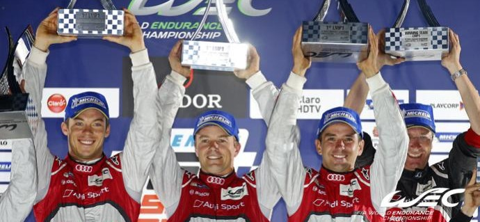 6 Hours of Sao Paulo : Audi, Rebellion and G-Drive Racing ORECA triumph in LMP