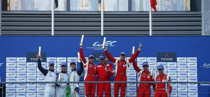 Forza Ferrari at the WEC 6 Hours of Spa-Francorchamps