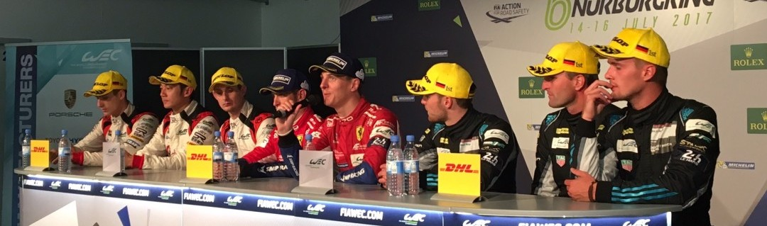 What the LMP2 and GTE drivers said after the 6 Hours of Nurburgring