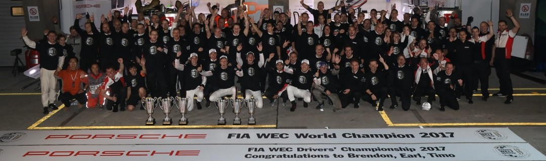 Porsche:  2017 FIA World Endurance Manufacturers' Champion