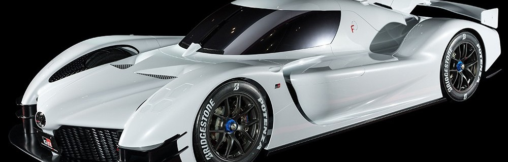 WEC crossover of technology on display in Tokyo with Toyota
