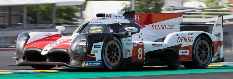 Le Mans Test session: Toyota on top at end of shortened morning session
