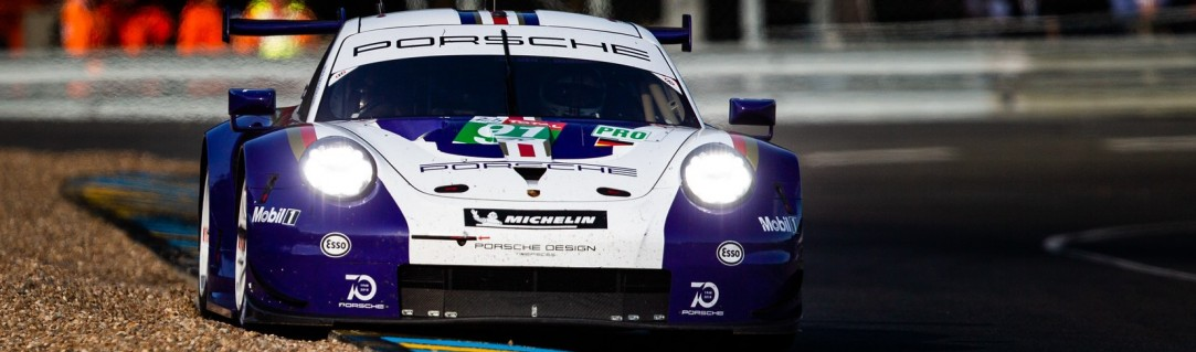 Porsche dominate LMGTE classes