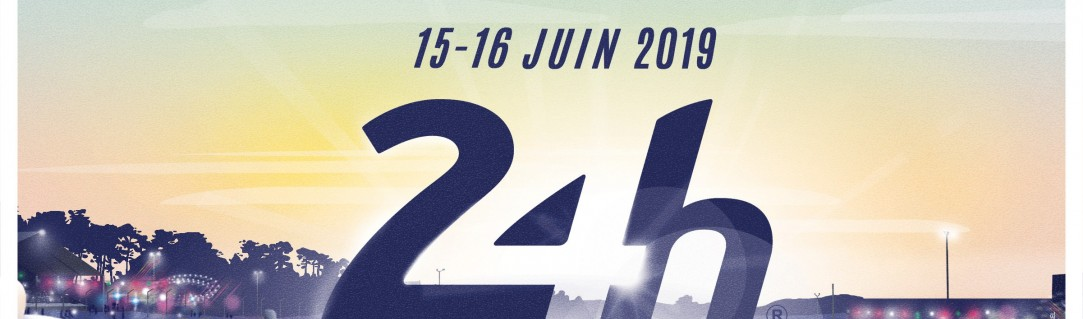 Official poster revealed for the 24 Hours of Le Mans 2019