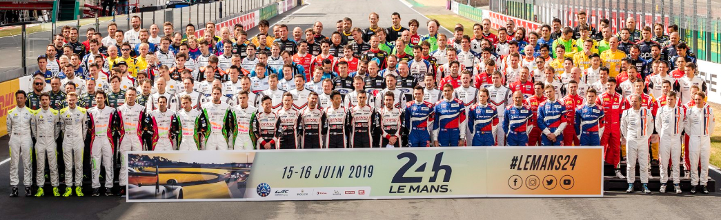 Drivers gather for official Le Mans picture