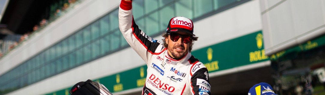 Alonso's debut season in the WEC