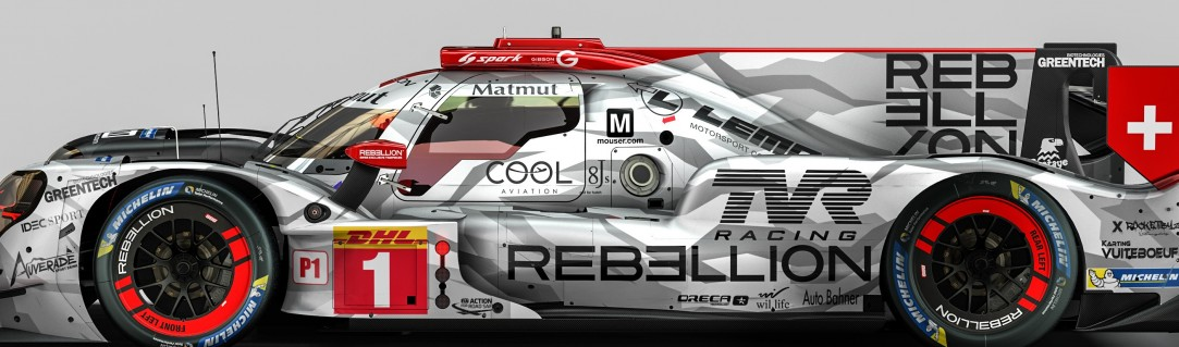 Refreshed livery for Rebellion Racing