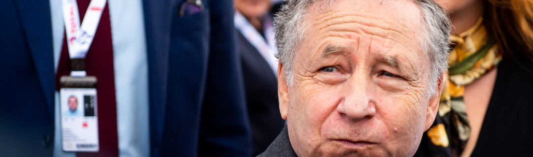 "Jean Todt: ""Protecting people has to be the priority"""