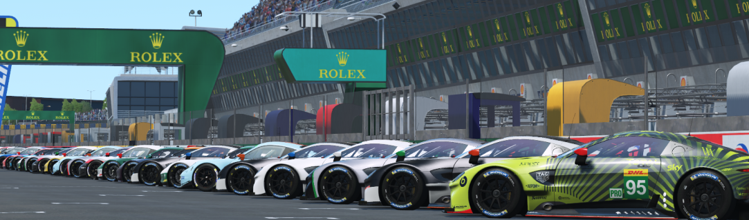 A World Premiere: 24 Hours of Le Mans Virtual on 13/14th June