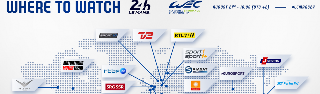 Where to watch the 2021 24 Hours of Le Mans