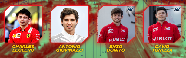 Ferrari and Charles Leclerc onboard for 24 Hours of Le Mans Virtual!
