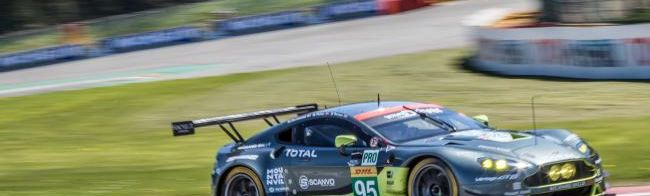 Through the eyes of a mechanic:  an Aston Martin Racing pitstop (video)