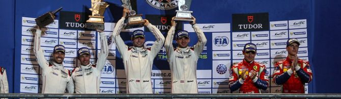 Porsche and Ferrari take LMGTE honours at COTA