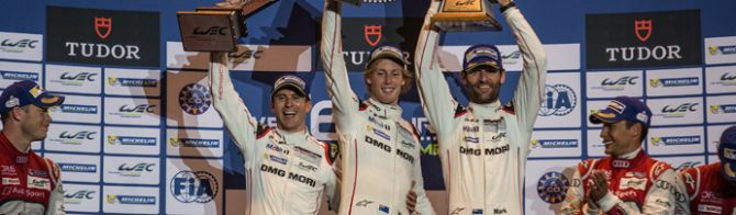 Webber/Hartley/Bernhard Porsche takes second consecutive WEC win