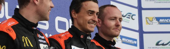 6 Hrs Silverstone:  Wet WEC LMP2 win for G-Drive Racing