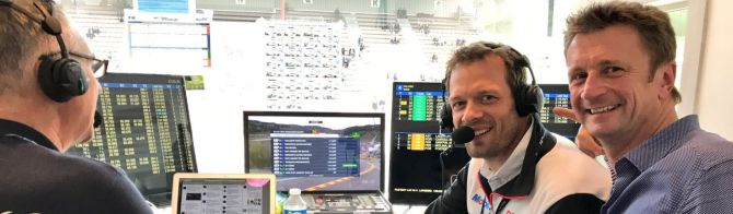 Top broadcast talent returns for WEC in 2018