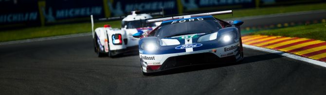 Ford takes front row lock-out in LMGTE Pro