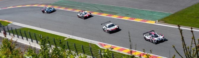 Spa after 4 Hours: Alonso and Nakajima extend No.8 Toyota lead; Porsche takes control of LMGTE Pro