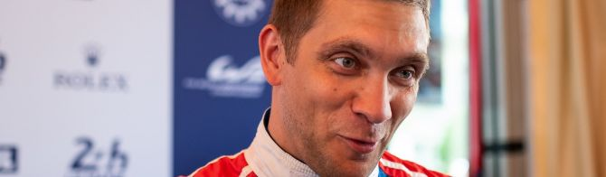 Interview with SMP Racing's Vitaly Petrov (video)