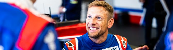 24 Hours of Le Mans:  Visit to SMP Racing's pit box with Jenson Button (video)