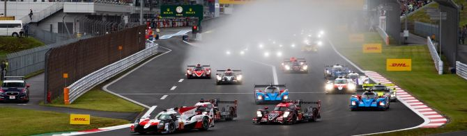 6H Fuji after 2 hours: Kobayashi leads for Toyota; BMW heads close GTE Pro fight